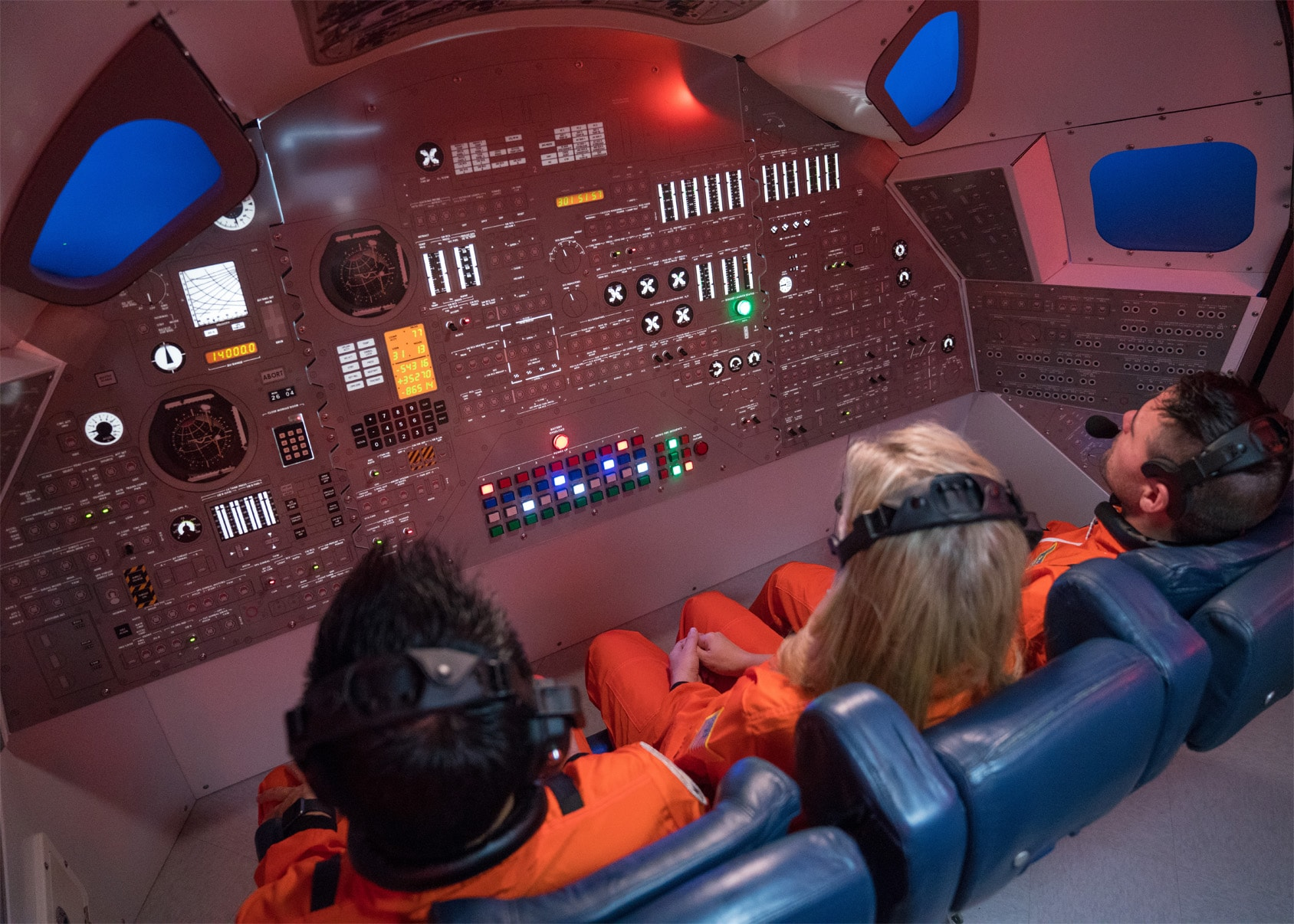inside space ship