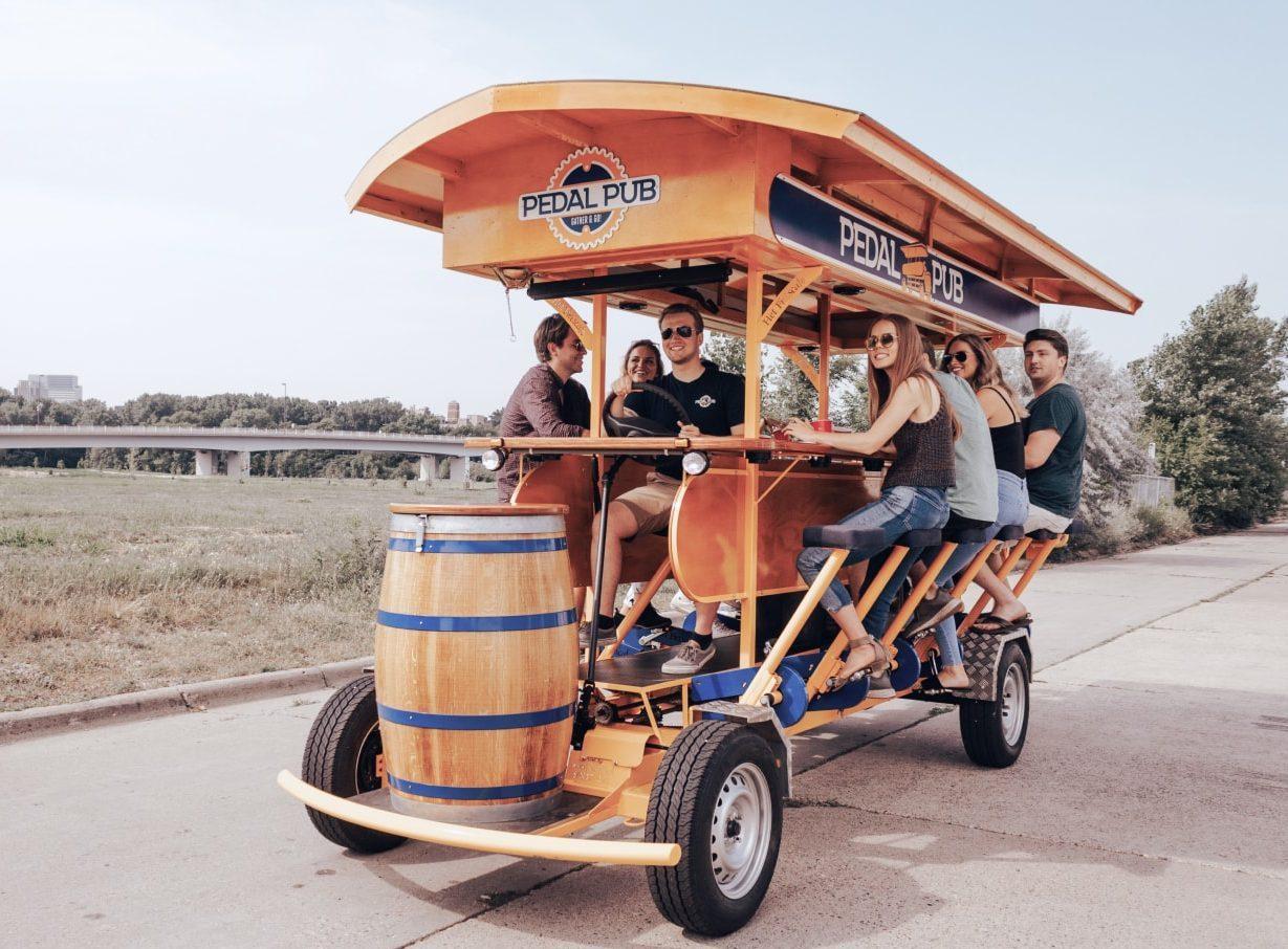 pedal pub wagon