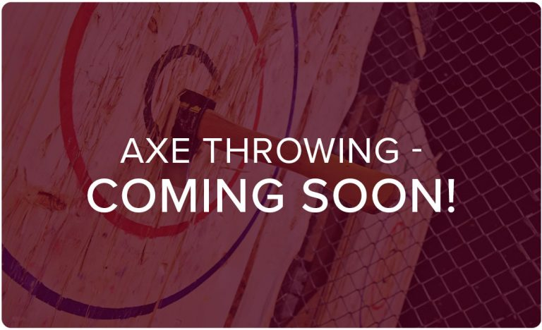 axe throwing facility